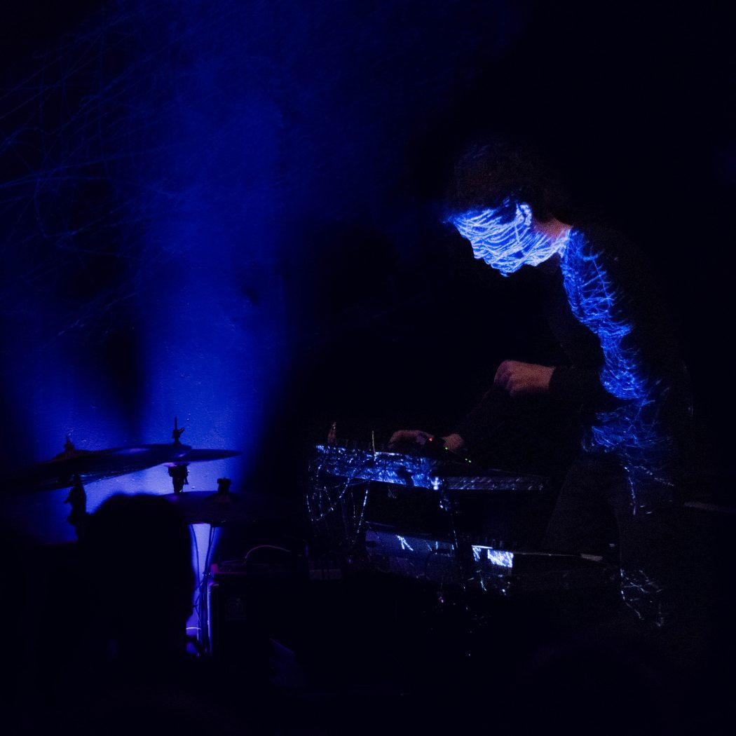 Jan Hertz elektronische Livesets und Visuals Freundetreffen Festival 2019