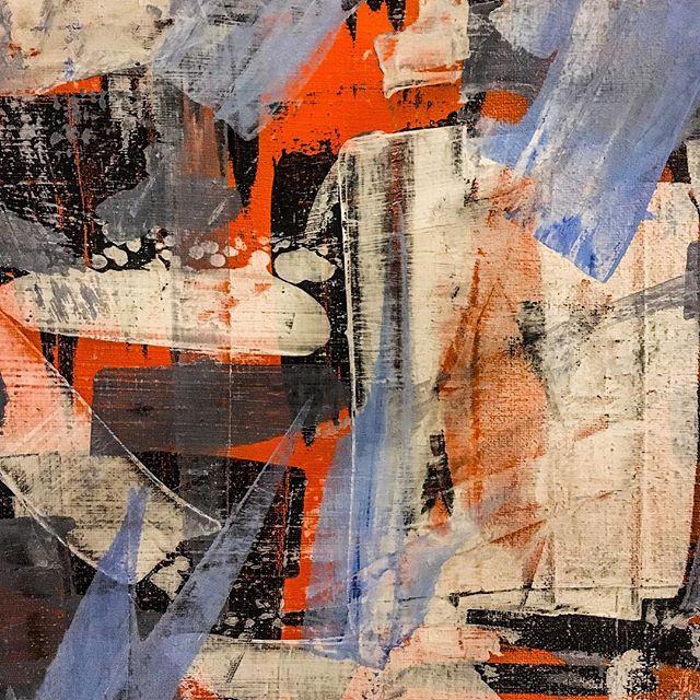 Freundetreffen Festival 2019 Unsere Kunstausstellung in der Schachtofenbatterie mit Diana Justus Abstrakte Malerei